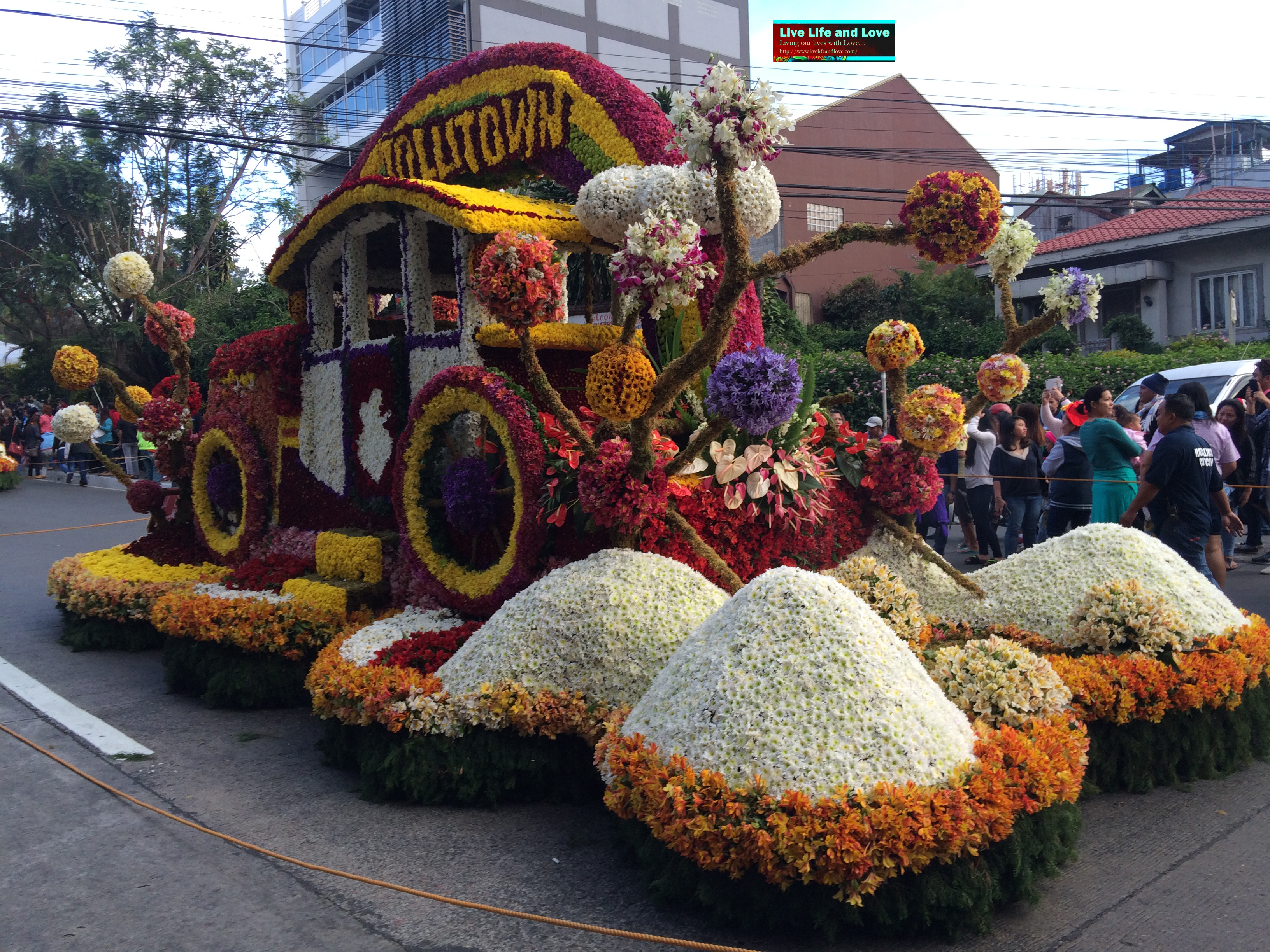 panagbenga festival Nagsimula na po ang panagbenga festival sa baguio city.